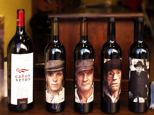 trilogía de vinos 'El Pícaro', 'El Recio' y 'El Viejo' de Matsu :: Imagen de Jacinta Lluch Valero @Flickr