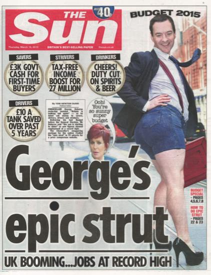 También han habido coñas en la prensa (no seria) como The Sun
