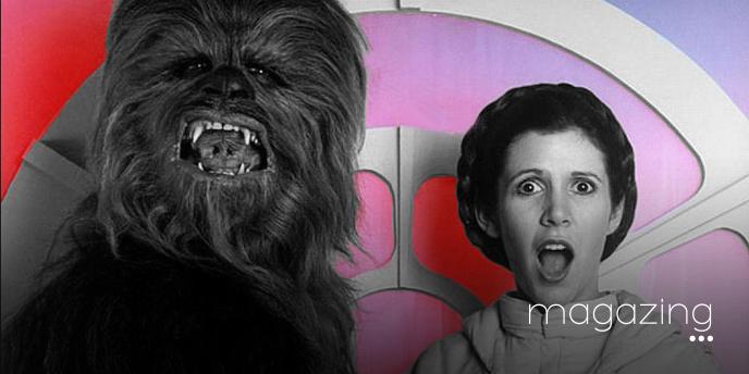 Chewbacca pecho Leia Star Wars
