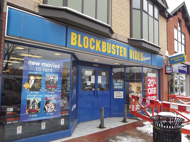 Blockbuster Video Express in Stratford Road :: Picture by Elliott Brown @Flickr