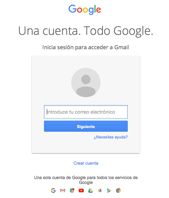 Ha desaparecido el logo de Gmail